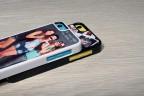 Coque iPhone 5C personnalisée avec côtés rigides unis