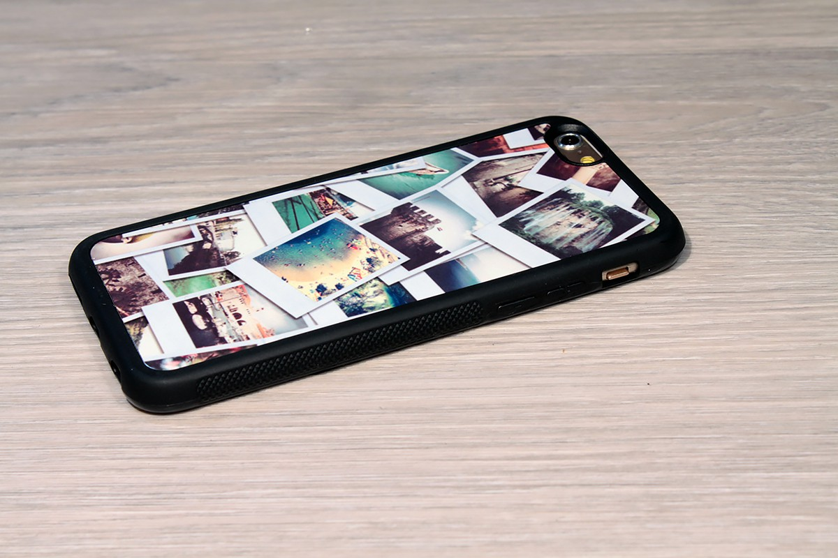 coque iphone 6 personnalis e avec c t s silicones unis. Black Bedroom Furniture Sets. Home Design Ideas