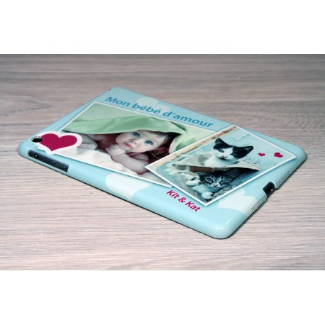 Coque iPad Mini personnalisée avec côtés imprimés