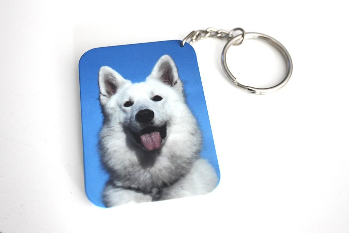 Porte cl photo personnalis rectangle incassable - Porte clef personnalise photo recto verso ...