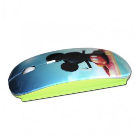 Créez votre souris personnalisée verte avec photos et textes