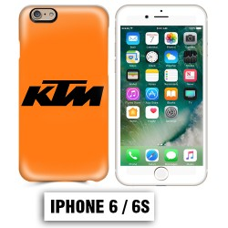 Coque iphone 6 6S moto cross KTM