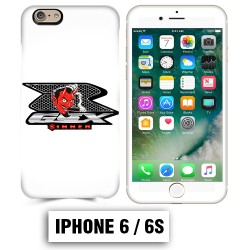 Coque iphone 6 6S Moto Suzuki GSXR