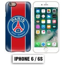 Coque iphone 6 6S Foot PSG logo club