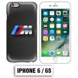 Coque iphone 6 6S BMW M Power carbone