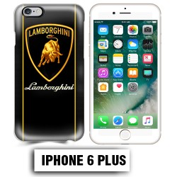 Coque iphone 6 PLUS logo Lamborghini