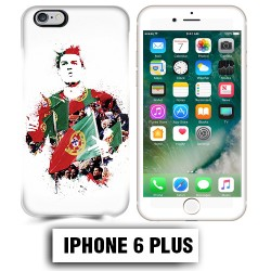 Coque iphone 6 PLUS Foot Ronaldo Madrid CR7