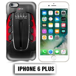 Coque iphone 6 PLUS moteur Audi RS V8
