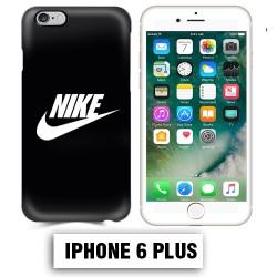 Coque iphone 6 PLUS logo Nike noir