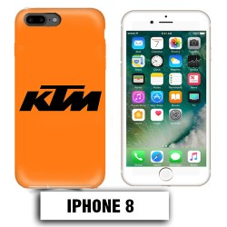Coque iphone 8 moto cross KTM