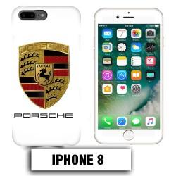 Coque iphone 8 logo Porsche