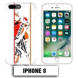 Coque iphone 8 moto course Repsol
