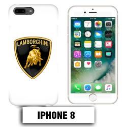 Coque iphone 8 logo Lamborghini