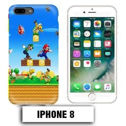 Coque iphone 8 Mario Bross jeu