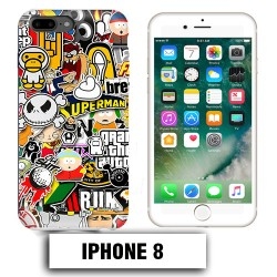 Coque iphone 8 South Park Superman Comics