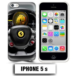 Coque iphone 5 5S volant Ferrari 458 488