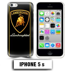 Coque iphone 5 5S logo Lamborghini