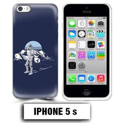 Coque iphone 5 5S Star Wars snowboard
