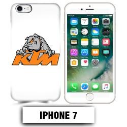 Coque iphone 7 moto cross KTM Bulldog