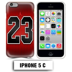 Coque iphone 5C air Jordan basket 23