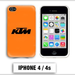 Coque iphone 8 moto cross KTM
