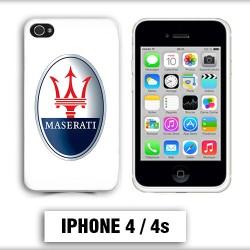 Coque iphone 4 logo Maserati