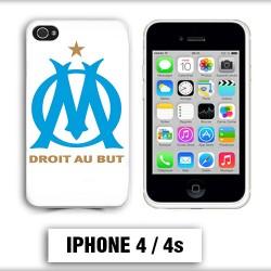 Coque iphone 4 équipe de Marseille OM foot