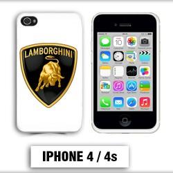 Coque iphone 4 logo Lamborghini