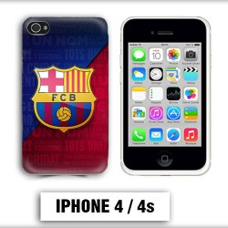 Coque iphone 4 Foot FCB Barcelone Messi