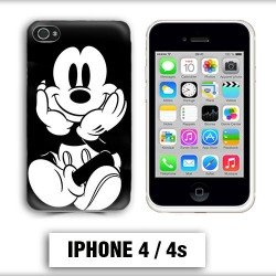 Coque iphone 4 Mickey Mouse vintage