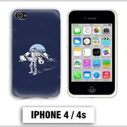 Coque iphone 4 Star Wars snowboard