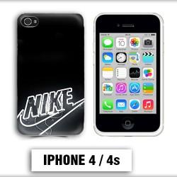 Coque iphone 4 logo Nike neon