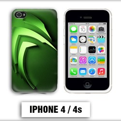 Coque iphone 4 Energy Monster vert