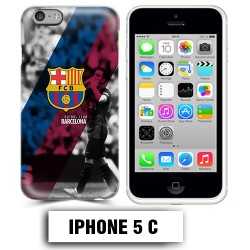 Coque iphone 5C Foot FCB Barcelonne Messi