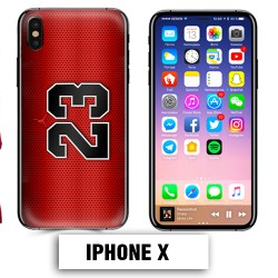 Coque iphone X air Jordan basket 23