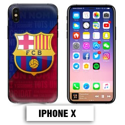 Coque iphone 6 6S Foot FCB Barcelone Messi