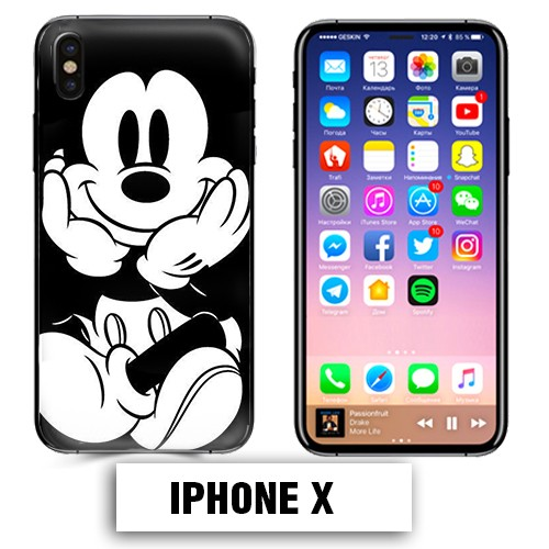 coque iphone x mickey