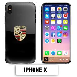 Coque iphone X Porsche Carrera