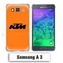 Coque Samsung A3 2017 KTM orange