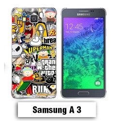 Coque Samsung A3 2017 South Park Superman comics