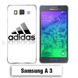 Coque Samsung A3 2017 Adidas Blanche