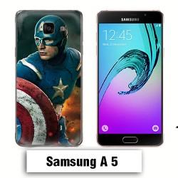 Coque Samsung A5 2017 Captain America Avengers
