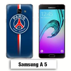 Coque Samsung A5 2017 PSG Bleu Rouge