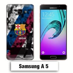Coque Samsung A5 2017 FCB Barcelone Messi