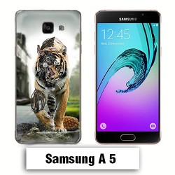Coque Samsung A5 2017 animal tigre robot