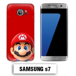 Coque Samsung S7 Mario Bross