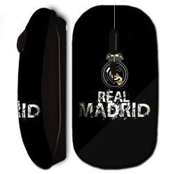 Souris sans fil Real Madrid football