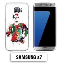 Coque Samsung S7 Ronaldo Madrid CR7