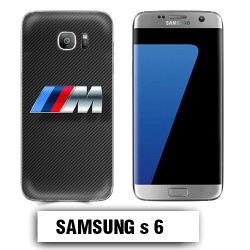 Coque Samsung S7 BMW Carbone