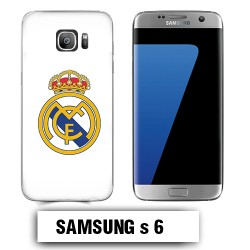 Coque Samsung S6 Real Madrid foot